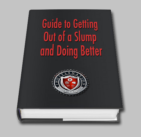 ihustle ebook - guide to getting out of a slump and doing better